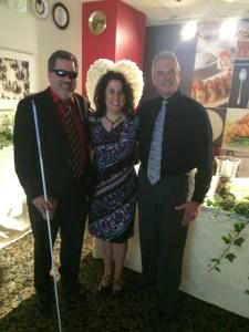 Jim Meck, Dr. Alison Paster, Glenn Hofmann